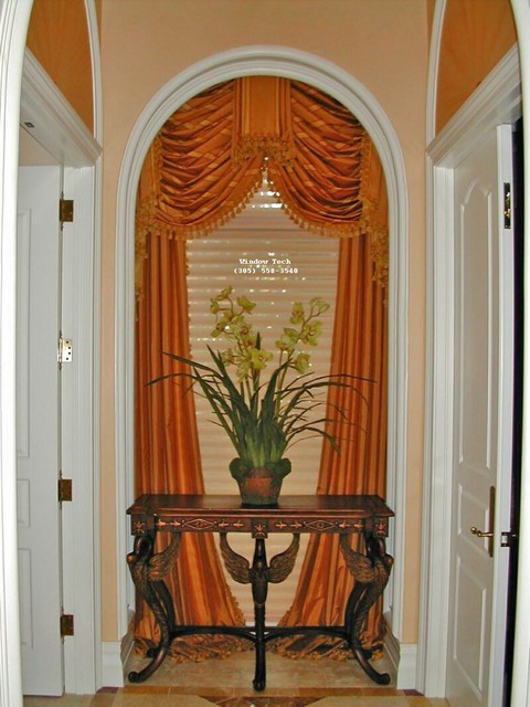 Gallery :: Drapery & Soft Window Treatments :: Arched_Swag ...
