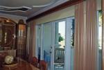Double Cornice   Sheer Side Panels