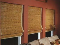 Highlight for Album: Woven Naturals & Bamboo Shades